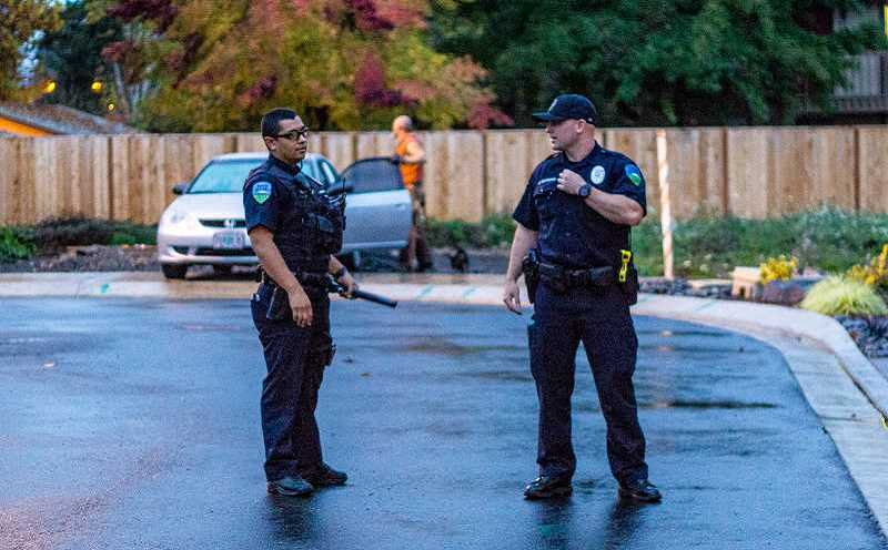 FILE PHOTO - A week in the life of Forest Grove police officers.