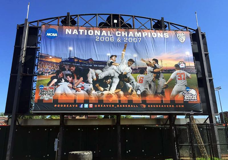 COURTESY OSU - Lake Oswego grad Mike Stutes and his 2006-07 baseball teams have left a lasting impact at Oregon State after winning back-to-back national championships a decade ago.