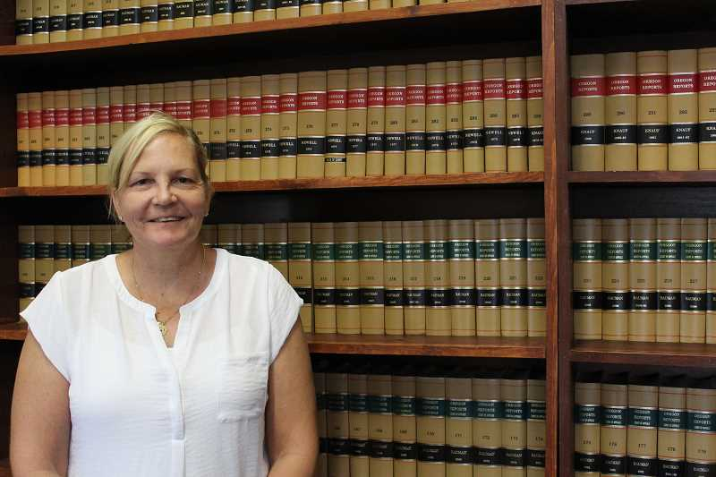 JASON CHANEY - Daina Vitolins will be sworn in as Crook County Circuit Court Judge on Aug. 11.