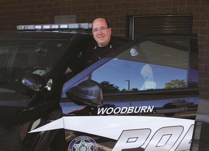 INDEPENDENT FILE PHOTO - In light of recent criminal charges against Woodburn police officers, Chief Jim Ferraris said the hiring process for new police officers is extremely thorough but can't always account for the unpredictability of humans.