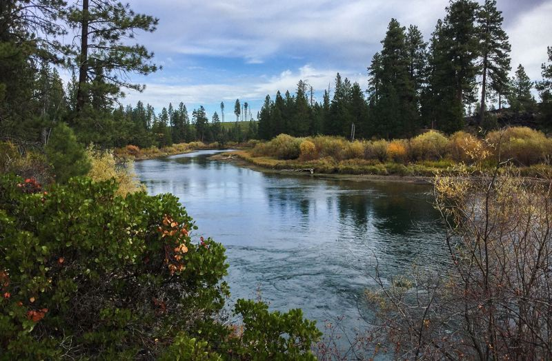 CONTRIBUTED - Located just 15 minutes south of Bend, Benham Falls is an easy 1.5-mile hike near the Deschutes River.