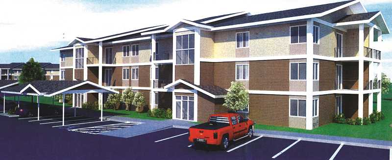 Apartment Complex pamplin media group - west woodburn residents object to planned