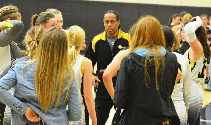 SPOTLIGHT PHOTO: JAKE MCNEAL - Sixth-year Lions girls' basketball coach Billy McKinney will not return this winter after learning on June 21 that his contract would not be renewed, but will continue to teach special education at St. Helens High.
