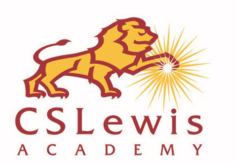 SUBMITTED RENDERING - George Fox University professor Jeff Cameron's design for C.S. Lewis Academy's new logocombines an Aslan-inspiredlion with a light source?, which both represents the school's Watchmen nickname and Christian theology.