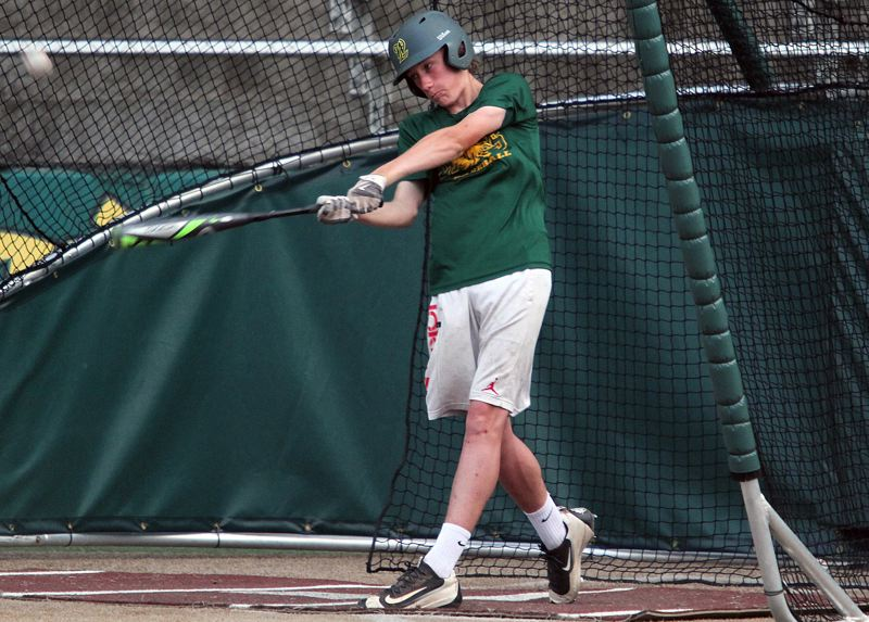 TIDINGS PHOTO: MILES VANCE - West Linn outfielder Zac Hoover and his teammates on the 14U Babe Ruth team are scheduled to begin play in the Babe Ruth World Series in Glen Allen, Va., on Friday.