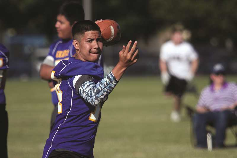PHIL HAWKINS - Junior quarterback Nathan Corpuz is set to take over the offense this season after injuries derailed his sophomore season in 2016.