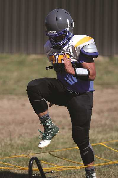 PHIL HAWKINS - Gervais senior Kaneali'i Kawamura is one of several returning all-conference players eager to make an impact for the football team this fall.