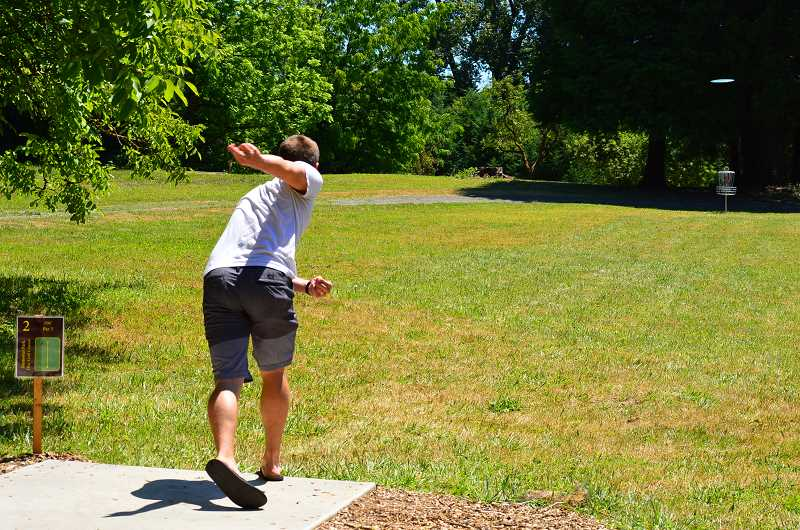 SPOKESMAN FILE PHOTO - GreenPlay consultant Tom Diehl said some of Wilsonvilles niche features like disc golf and pickle ball were part of trends he's seeing nationwide.