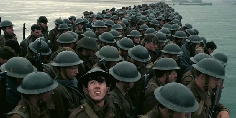 SUBMITTED IMAGE - Dunkirk is a tale roughly unfurled in three battle arenas: land, sea and sky.