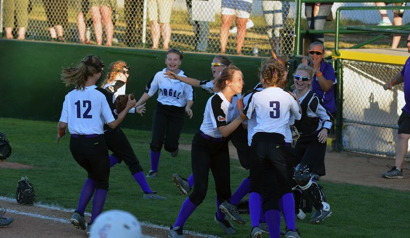 TIMES FILE PHOTO - The Oregon District Four softball team will have four games in pool play beginning on Wednesday and spanning into Saturday. Should ODF make it out of pool play, they'll pllay on Monday in elimination action.