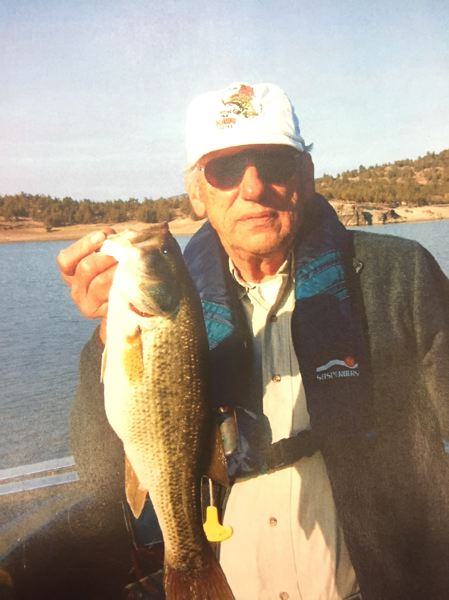 CONTRIBUTED PHOTO - Bud Hartman, one of the founding members of the Oregon Bass and Panfish Club, will speak at the Estacada Public Library on Friday, Aug. 11. He will be joined by fellow club member and author Don Davis.