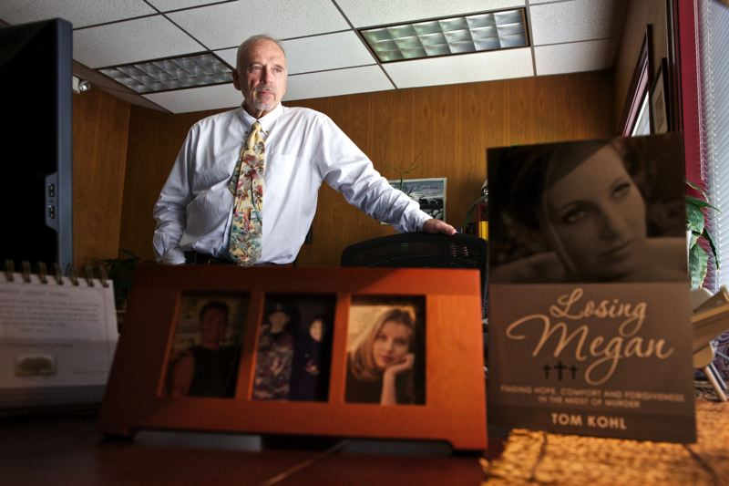 PORTLAND TRIBUNE: JAIME VALDEZ - Washington County Judge Tom Kohl lost his daughter, Megan, to a murderer in 2006. Today he visits prisons around the country to learn what keeps ex-convicts from re-offending, and is working to institute rehabilitation programs in Oregon prisons.