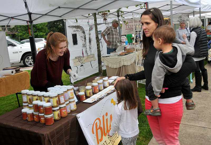 SPOKESMAN FILE PHOTO - Dont forget- Wilsonville Farmers Market is still going strong, every Thursday night in the Villebois neighborhood.