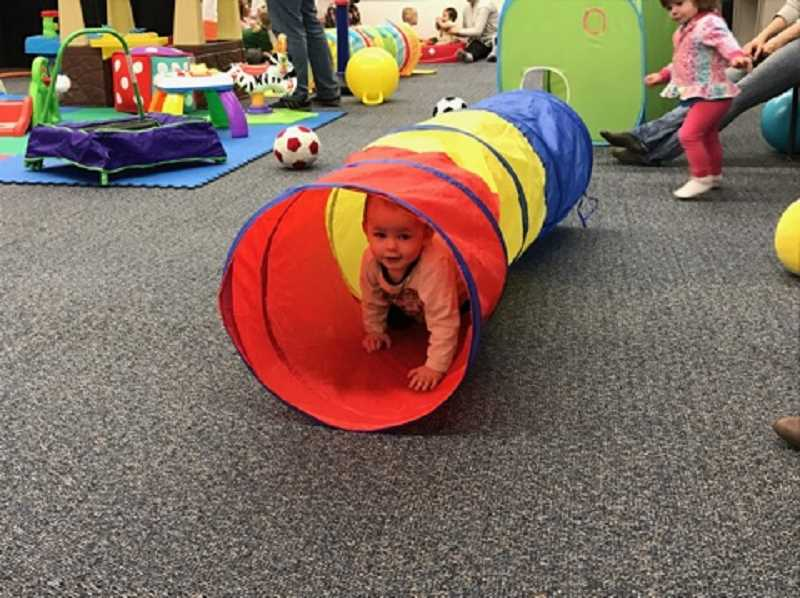 SUBMITTED PHOTO  - Bring babies and toddlers to the Indoor Playground at Palisades.
