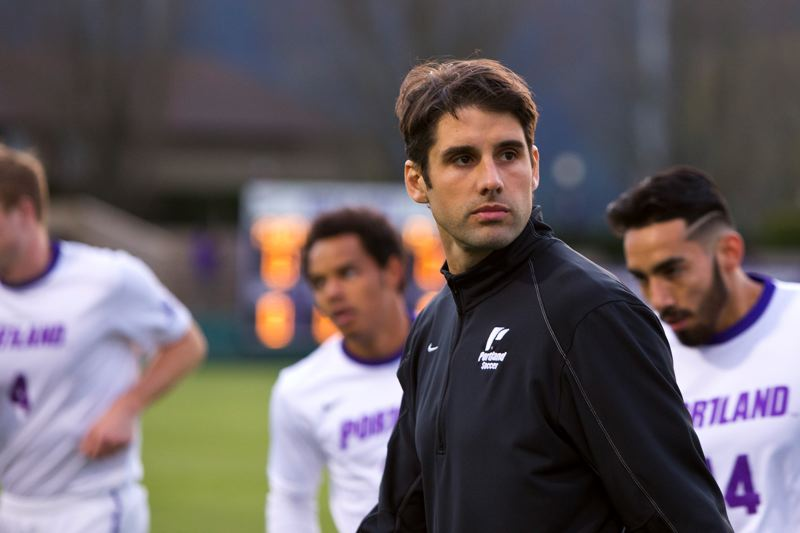 COURTESY: UNIVERSITY OF PORTLAND - What can the defending West Coast Conference champion Portland Pilots do for an encore? Second-year coach Nick Carlin-Voigt has some ideas.