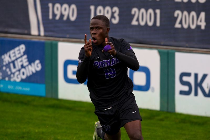 COURTESY: UNIVERSITY OF PORTLAND - Forward Benji Michel was the WCC freshman of the year in 2016, scoring 10 goals.