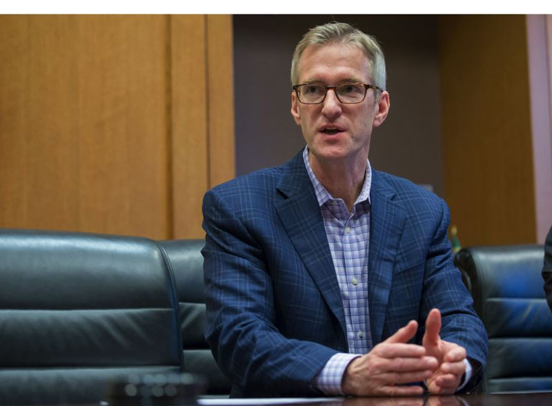 PAMPLIN MEDIA GROUP FILE PHOTO - Mayor Ted Wheeler