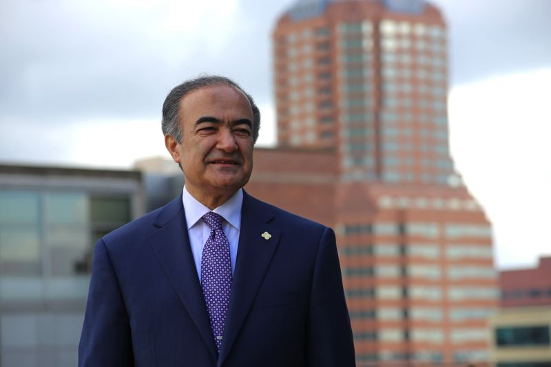 PORTLAND STATE UNIVERSITY - Rahmat Shoureshi, 64, became the ninth president of Portland State University this month.