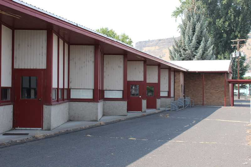 JASON CHANEY - The classrooms at the Ochoco Elementary building will be converted to housing units.