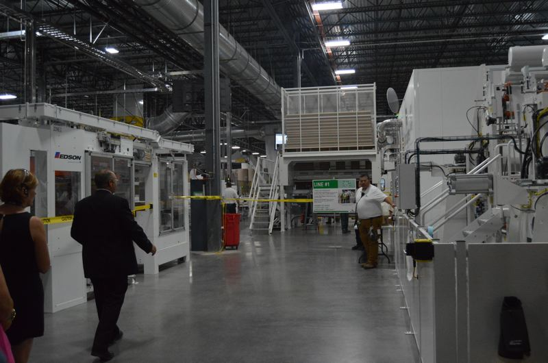 SPOTLIGHT FILE PHOTO - A new Cascades Tissue plant in Scappoose is an example of a business that got major concessions from the state and local governments by way of tax breaks. Scappoose will likely be asked again to consider enterprise zone benefits for a new business in the coming months.