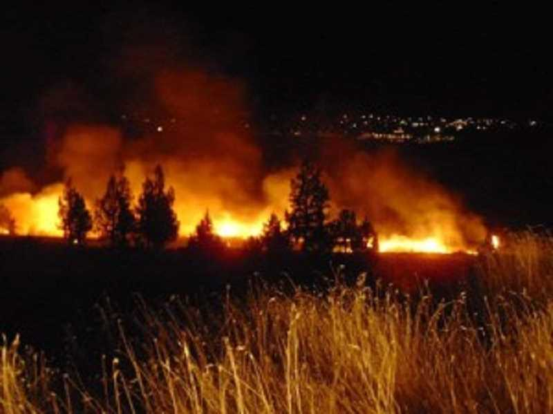 OREGON PUBLIC BROADCASTING - The Nena Springs fire at the Warm Springs Reservation has consumed more than 35,000 acres, and was only about 4 percent contained Saturday morning.