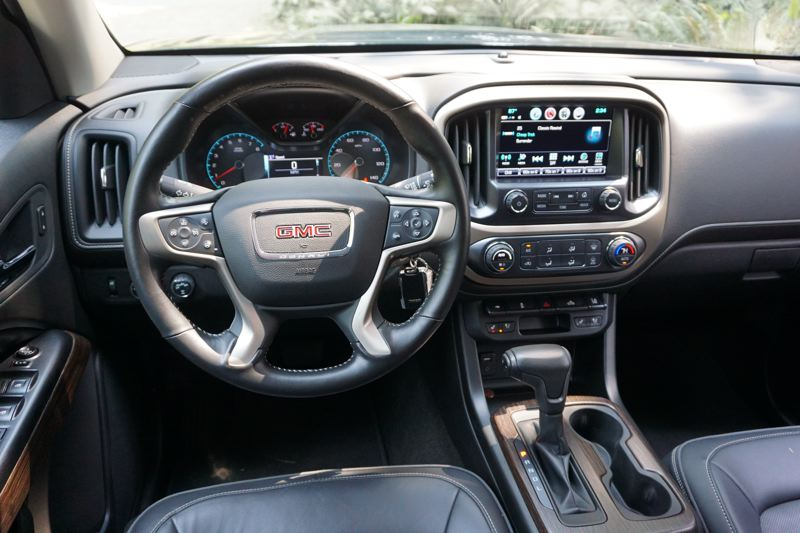 PORTLAND TRIBUNE: JEFF ZURSCHMEIDE - With the Denali package, you get automatic climate control, rear vision camera, GPS navigation on an 8-inch touch screen, wi-fi in the truck, and all the infotainment sources you could want.