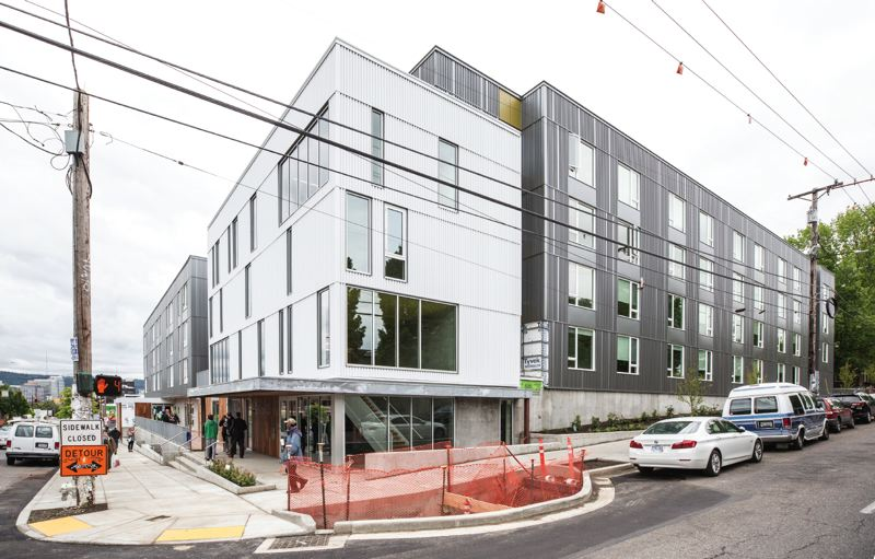 PORTLAND TRIBUNE: JONATHAN HOUSE - The newly-opened St. Francis Apartments has several units of Permanent Supportive Housing