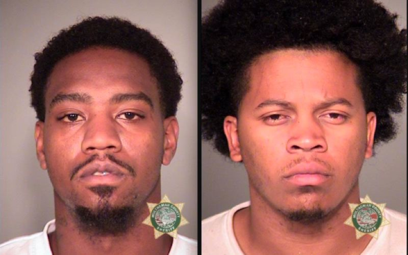 POLICE PHOTO - Tavaris Deontay Winchester, left and Aaron Drake Birt, right,