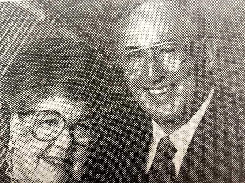ARCHIVE PHOTO - David and Anita Horner, who resided in Estacada for many years, were celebrating their 60th wedding anniversary in 1997.