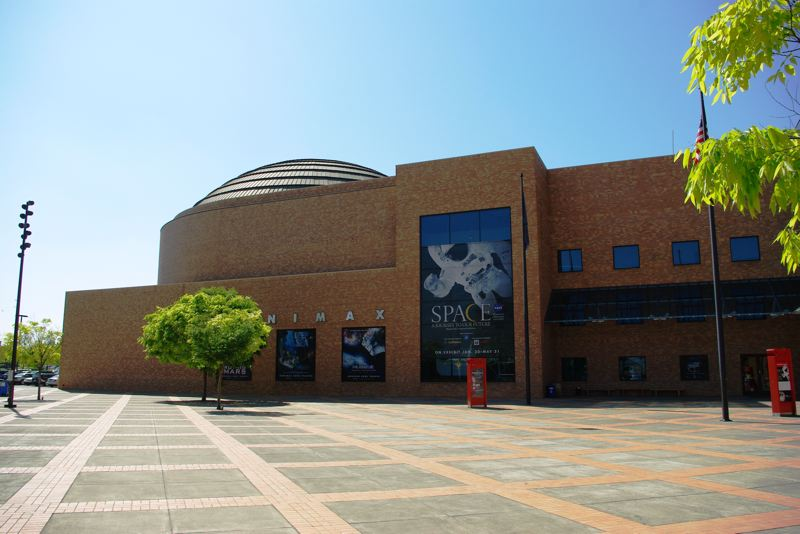 COURTESY PHOTO - Oregon Museum of Science and Industry, which is hosting a free eclipse-viewing party Monday morning at its plaza at 1945 S.E. Water Ave.