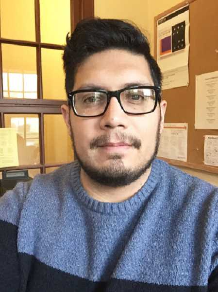 SUBMITTED PHOTO: ADRIAN DIAZ - Adrian Diaz was one of nearly two dozen honorees at last Thursdays 'Say Hey!' event at Marylhurst University. Diaz, an admissions coordinator at Marylhurst, moved to Portland last year from Los Angeles.