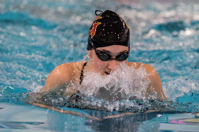NEWS-TIMES FILE PHOTO - Forest Grove High rising senior Cali Rowland competes during a meet last season.