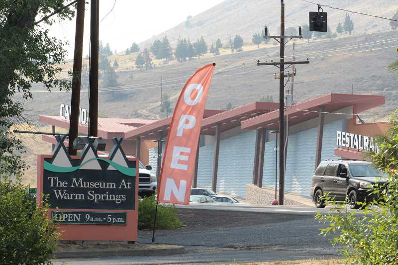 HOLLY M. GILL - The Museum at Warm Springs and Indian Head Casino, located across U.S. Highway 26, are planning activities from Aug. 19-21, for the eclipse.