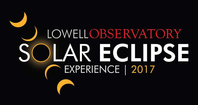 SUBMITTED LOGO - The Lowell Observatory Solar Eclipse Experience will begin with a free event at the Madras Performing Arts Center at 6 p.m. Sunday, Aug. 20, and continue with an eclipse-day event which costs $20.