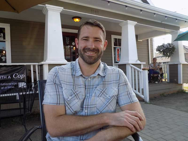 GAZETTE PHOTO: RAY PITZ - Ryan Schulz, a Sherwood physical therapist at Vertical Wall Physical Therapy, wants people to know they can come back from an injury even stronger than before. He also is passionate about helping relieve pain from chronic headaches, getting people off painkillers.