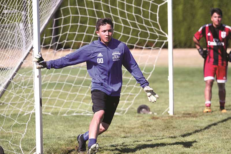 PHIL HAWKINS - After splitting time at goalkeeper during the first half of the 2016 season, Woodburn junior Jose Ochoa is ready to take over the starting gig full time when the season starts at the end of the month.