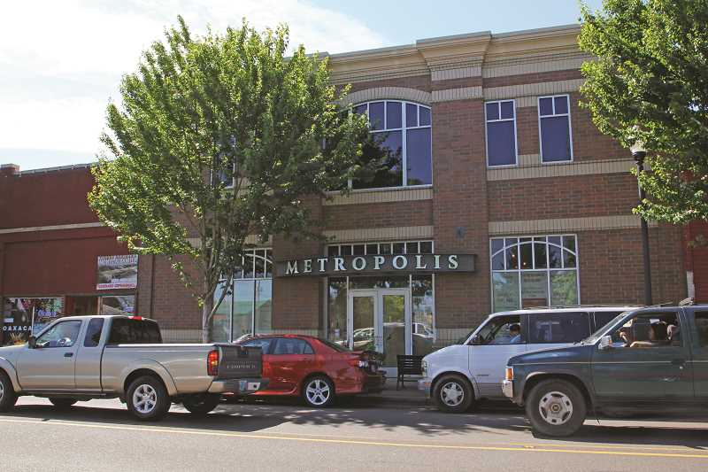 INDEPENDENT FILE PHOTO - The marketplace will be located inside the former Association Building, located in downtown Woodburn.