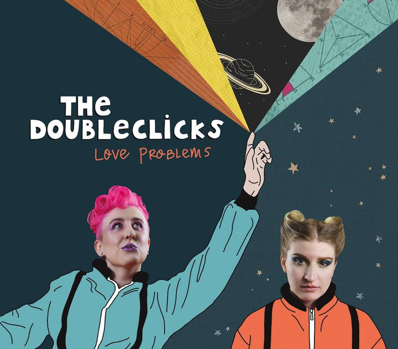 COURTESY PHOTO: THE DOUBLECLICKS - The Doubleclicks' new album 'Love Problems' is No. 1 on Billboard's Comedy Album chart. The Portland sisters plan a Northeast tour this month.