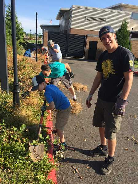More than 70 people showed up for the Lowrie Clean-up project Saturday, Aug. 19.