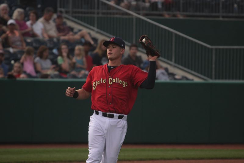 TIMES FILE PHOTO - Ex-Westview Wildcat superstar Carson Kelly has made his way to the big leagues for the St. Louis Cardinals this summer.