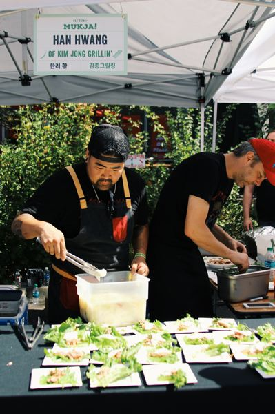 COURTESY: SAMMI WONG - Han Hwang of Kim Jong Grillin' is one of the rock star Portland chefs who'll be cooking up a storm for the third annual Korean Food Festival, set for Sept. 10.