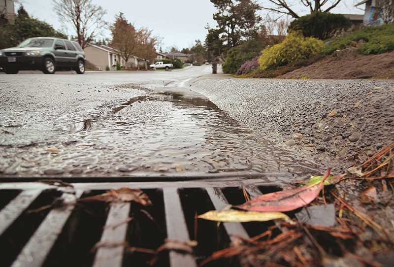 TIDINGS FILE PHOTO - On the heels of an especially wet winter, the City is looking for input on its stormwater management system.