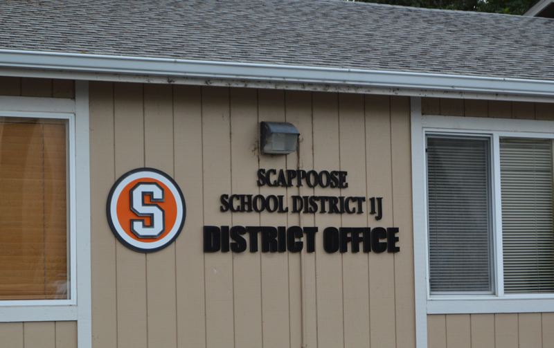 SPOTLIGHT PHOTO: NICOLE THILL - A former Scappoose School District teacher has filed a lawsuit against the board of directors for the district. A hearing is scheduled for the end of October.