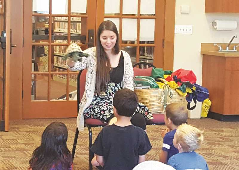 COURTESY PHOTO: MOUNT ANGEL PUBLIC LIBRARY - Stephanie Laing, the Mount Angel Public Library's youth services librarian, left her position in mid-August.