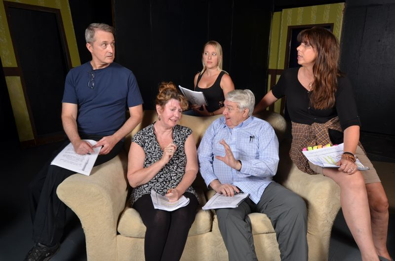 CONTRIBUTED PHOTO - A cast of six includes three couples at different stages in their relationships.