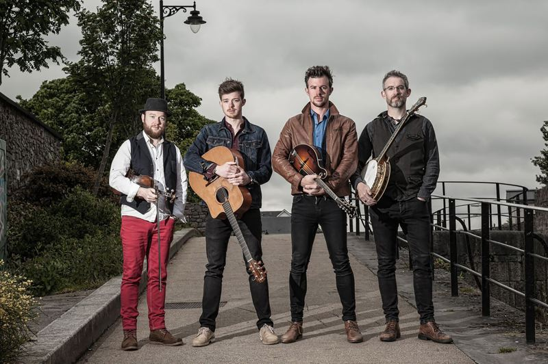 CONTRIBUTED PHOTO - We Banjo 3 from Ireland are the headliners for the Labor Day celebratio of roots music.