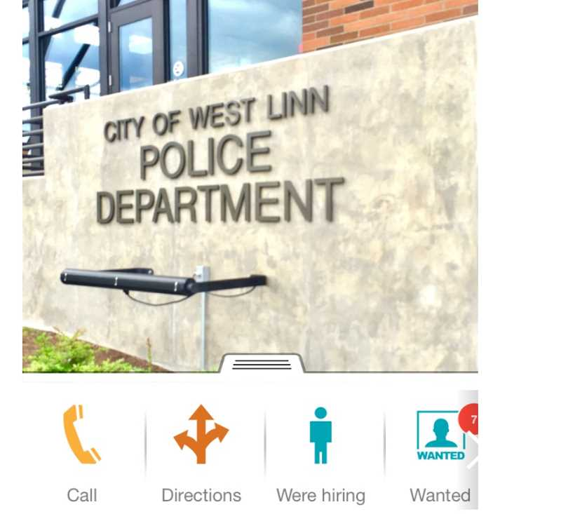 In the earlygoing, the app will be primarily used to push out information, but in the future it may allow for residents to file virtual reports.