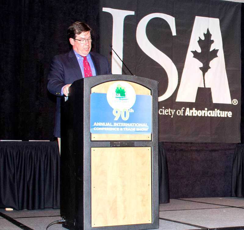 SUBMITTED PHOTO  - Terry Flanagan of Lake Oswego has been named a True Professional of Arboriculture by the International Society of Arboriculture.