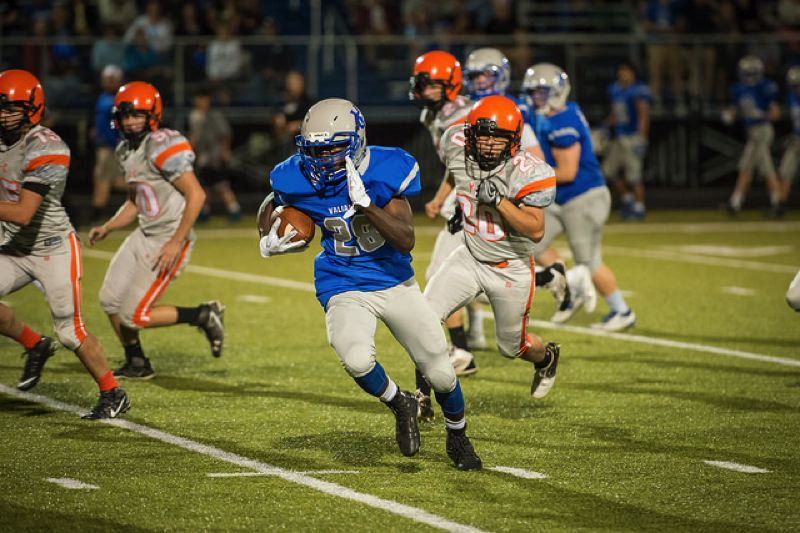 COURTESY PHOTO: VALLEY CATHOLIC - Valley Catholic sophomore running back Trey Eberhart will take on a featured role on offense this season.
