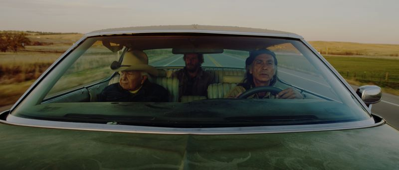PHOTO COURTESY OF INYO ENTERTAINMENT - 'Neither Wolf Nor Dog,' the screen adaptation of  author Kent Nerburn's award-winning 1994 novel, will open in Scappoose this weekend. The independent film was shot near the Wounded Knee battle site and features a 95-year-old Native elder.